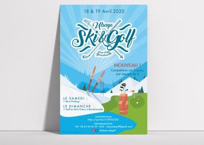 affiche-plv-golf-barcelonette